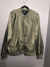 Yeezy Season Type H&M Olive Green Baseball Bomber Jacket - Men's Size XL