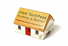 Irish Turf/Peat Incense and Burner
