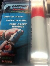 BASS WAX GARLIC  SCENT FISH ATTRACTOR   NEW IN PACK