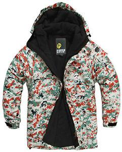 SOUTH PLAY Good Quality Mens Ski Snowboard Jacket Jumper Parka Coat Blazer ACU