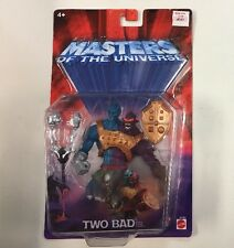 MOTU TWO BAD  FIGURE MIB SEALED MASTERS OF THE UNIVERSE 200X (A)