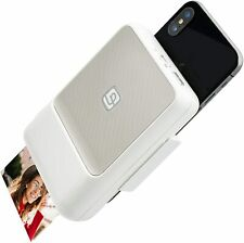 Lifeprint Instant Bluetooth Printer Instant camera for ISO and Android White New
