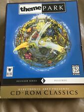 Free Shipping Vintage Theme Park CdRom Classics With Box And Manual