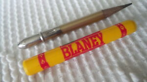 Vintage Adv BULLET PENCIL Blaney Farms, Madison, Wisconsin, Seed Corn