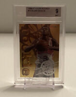 1996-97 NBA Hoops Rookies Allen Iverson #12 Gold Foil Card BGS 9 MINT ROOKIE RC