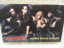 Extreme More Than Words 90's Hair Band Cassette Tape Single 1990 Vintage
