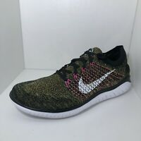 Nike Running Shoes Free RN Flyknit Back 942838-004 Mens Size 12