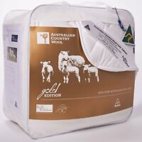 Kelly & Windsor Australian Country Downs Wool 300GSM Quilt| All Season