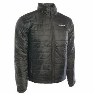 Gage Grundens Nightwatch Men's Jacket -Full Zip Water Resistant LtWht Coat-Sz ES