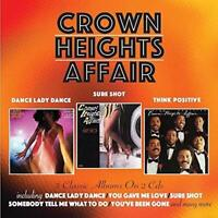 Crown Heights Affair - Dance Dance Lady / Sure Shot | Think Positive [CD]