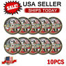 Military Challenge Coin Army All Branches USCG USMC ARMY NAVY USAF 10PCS SET