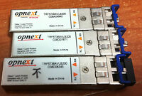 Lot of 4 Opnext TRF5736AVLB200 1GbE SFP LX Transceivers - FREE SHIP!