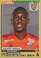 191 MAJEED WARIS # GHANA FC.LORIENT  BK.Häcken SWEDEN STICKER PANINI FOOT 2016