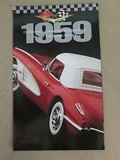 Franklin Mint Brochure 1959 Chevy Corvette