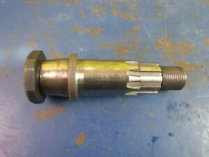 SPECIAL ENGINE SPROCKET SHAFT FOR HARLEY B.T.1972-81 FLYWHELS IN 1965-1969 CASES