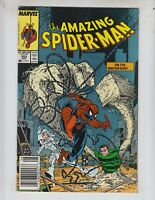 """Amazing Spider-Man 303  NM (9.4) 8/88 """"On the Waterfront!"""" McFarlane story & art"""