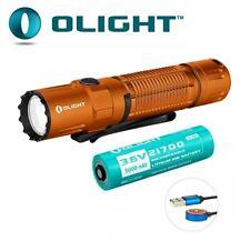 New Olight M2R Pro Warrior Orange USB Charge 1800Lumens LED Flashlight Torch