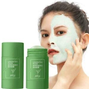 Green Tea Purifying Clay Stick Mask Acne Blackhead Cleansing Remover