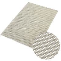 """Titanium Mesh Perforated Plate long 7.87"""" x 11.81"""" Metal Expanded 200mm x 300mm"""