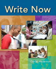 NEW Write Now by Daniel Anderson