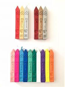 Wax Seal Craft Sealing Wax Stamp Sticks Traditional Lit Taper 16 Colour TWS01-16