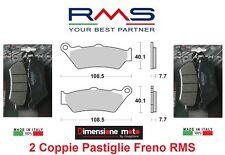 1010  2 Coppie Pastiglie Freno Anteriori RMS per BMW F 800 GS Adventure dal 2013