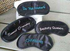 Travel Eye Mask Sleep Soft Padded Shade Cover Sleeping Blindfold Cute USA SELLER