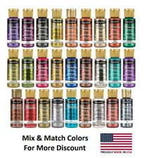DecoArt Dazzling Metallics Acrylic Paint 2oz - Choose Color- Buy More & Save!
