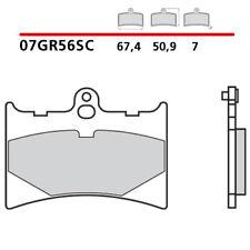 07GR56.SC CP PASTIGLIE FRENO BREMBO ANTE. APRILIA RS 125 99>05