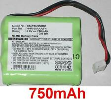 Batterie 750mAh type 8100-911-02101 HHR-60AAA/F4 Pour Philips Pronto RU950