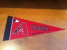Arizona Diamondbacks FELT BASEBALL PENNANT! FREE SHIPPING!