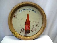 """Drink The Best Nile Lager Beer Vintage Advertising Tin Tray Sign Collectibles """""""