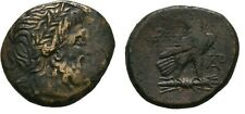 Ancient Greece 185-168 BC Macedon Paroreia Zeus Eagle Thunderbolt