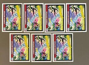1990 Impel Marvel Universe Series 1 X-MEN VS THE AVENGERS #99 Lot of (7)