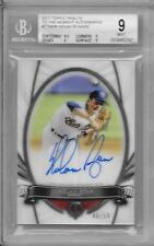 2017 TOPPS TRIBUTE TO THE MOMMENT AUTOGRAPHS #TTMNR NOLAN RYAN 48/50 BGS MINT 9
