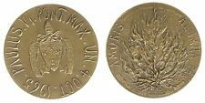 Medaglia Medal Paolo Paulus VI° Amoris Alumna Pax  1965 #MD4153