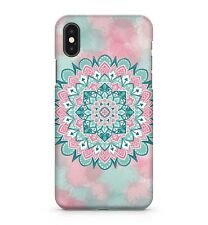 Splashy Water Painted Artistic Ancient Floral Mandala Pattern Phone Case Cover