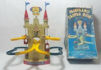 Vintage Battery Operated Toy Fairyland Castle Rise Dah Yang Fairyland go round