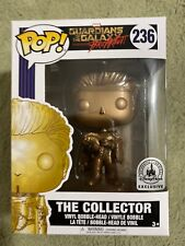 Funko Pop Marvel The Collector Gold Disney Parks Exclusive