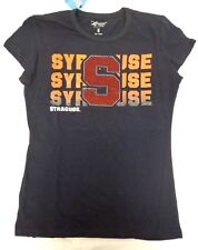 Syracuse Orange Women's G-III 4her Bling Glitter Short Sleeve Shirt