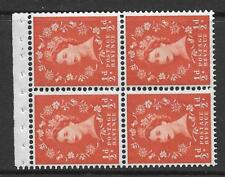 Sb11a ½d Crowns Right Wilding booklet pane perf type Ap Unmounted Mnt/Mnh