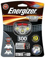 S9180 Energizer Vision HD: Focus Headlight 300 Lumens Night Cycling Light NEW