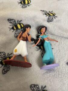 Z The Disney Store Figure Toy Prince Aladdin And Princess Jasmine