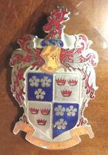 - 1947 1948 1949 1950 Frazer Emblem JE SUIS PRET - good enamel Kaiser-Frazer