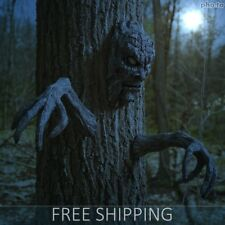 Halloween Decor Spooky Haunted Living Tree Face with Arms Yard Garden Decoration