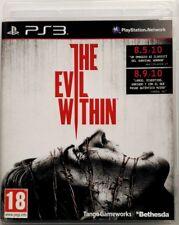 Gioco PS3 The Evil Within - Bethesda Sony PlayStation 3 Usato