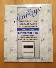 KJP 710-440B UNIVERSALE 120 Translucent pagine di pellicola negativa (50 PAGINE PER CONFEZIONE)