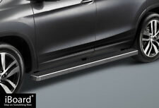 "4"" iBoard Running Boards Nerf Bars Fit 16-18 Honda Pilot"