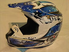 NUOVO Fiber Glass CASCO TAGLIA S, Shiro sh-777 ENDURO, QUAD Cross, MX ATV