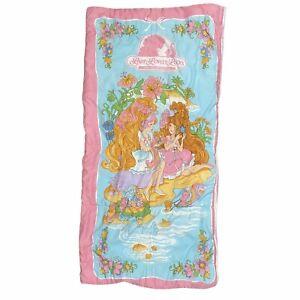 Lady Lovely Locks & the Pixietails 1980s Vintage Kids Sleeping Bag Zip Comforter